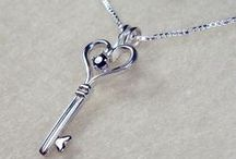 She Who Holds the Key / Keys & all kinds of jewelry