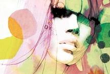 Fashion illustration / Inspirational illustrations... / by Julie Bedford