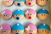 Cakes, Cupcakes, Cookies - Baby Shower Style! / Baby Shower themed cupcakes, cookies and cakes  / by The Baby Shower Shop