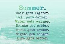 SUMMER! / by Hannah Mason