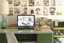 Desk/Home office / by Becky Clontz