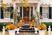 Fall Home Decor / Between table decorations and home decorating ideas, here's your guide to sprucing up your home in the autumn.