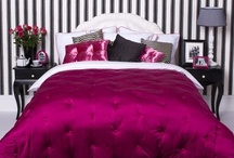 Modern Chic Master Suite / My latest project is to makeover a master bedroom into a modern chic hotel suite.
