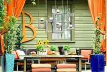 Deck Area Ideas / by Cassie Blackett
