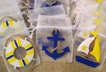 Anchors Away! Nautical Party / Sweet and sophisticated Nautical ideas for a great summer party.
