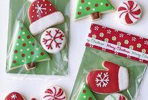 Christmas ideas  / #Christmas #cookies #snowmen #snowflake