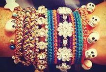 Woven bracelets / by Emilie Bergström