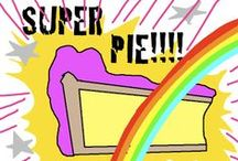 Pie, pie forever, pie always, pie is good / by Connor Rose