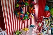 Circus, Circus! Candy Buffet by Signature Designs / This candy buffet screams, CIRCUS CIRCUS!