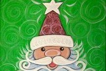 Christmas - Claus - - Reindeer