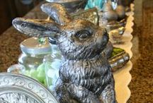 Easter Love/Spring Lovelies / What's not to love about Eggs, Birds, Nests, Lambs, Chicks, bunnies, flowers, and Spring?