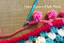 needling inspiration / knitting, crocheting, embroidery and sewn project ideas
