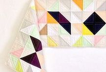 Triangles, shapes and magical patchwork