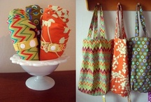 Shopping bags / by Bags to Make