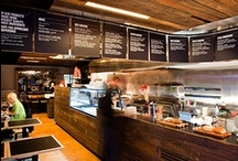 Fast Food Restaurant  Interior / by Alissa Stehr