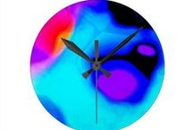 Clocks / Wall Clocks  decorated with my art images