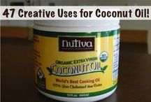 Coconut Oil and Coconut / by BusyBee Emily