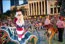 Christmas in The City / Come and immerse yourself in the true magic of Christmas as the Brisbane CBD plays host to Australia's most extensive free festive entertainment program. www.visitbrisbane.com.au/christmas