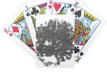Games / Here  are Playing Cards & Puzzles & Dart Boards & Golf Balls decorated with my art images