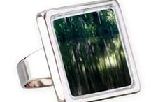 Rings & Cufflinks / Here  are Rings  & Cufflinks  decorated with my art images