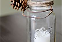 Jar Crafts and Projects / by Too Much Time On My hands- Kim hanou