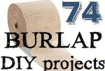 Burlap Crafts & Projects