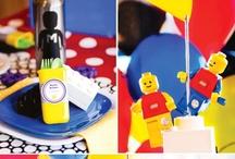Lego birthday party / by Angélique Jutras
