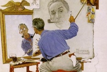 Norman Rockwell / by Valeria Rodrigues