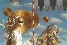 Jake Baddeley Art / DUTCH SYMBOLIST PAINTER AND ARTIST CREATING THE WORLD THAT EXIST BETWEEN WAKING AND DREAMING   / by Valentina Interiors & Designs
