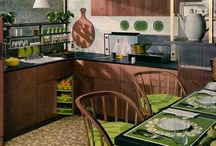 1940s-1950s Retro Kitchens / SO MODERN THEN, SO MODERN NOW / by Valentina Interiors & Designs