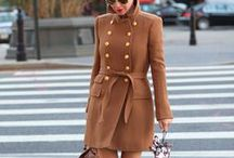 Coats Affair / Don't you just love jackets, blazers and coats? They make all the difference!