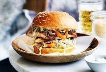 Burgers & Sliders / Sliders for party canapés of full meals - the works!