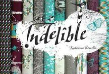 Indelible - fabric and thread collection / fabric collection x Art Gallery fabrics and thread collection x Aurifil