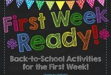 Back to School/Open house/End of Year