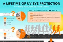 Why We Wear Our Shades / Check out these UV-safety facts from The Vision Council about the importance of protecting our eyes, at all ages, from the sunlight. Get even more deets on thevisioncouncil.org.   / by Eyecessorize