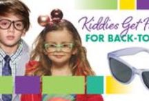 Kiddies Get Framed for Back-to-School / Calling all mommies 'n' daddies! Summer is (sadly) coming to a close, and your lil tykes are probably begging to snag some spankin' new goodies for their wardrobes before heading back to school. There's no better way to give their fresh fall gear a boost than with stylish specs and sunnies. Drawing from the season's coolest trends, the latest frames for boys and girls alike are bursting with whimsical details, vibrant hues and fun profiles—perfect for fashionable youngsters everywhere.  / by Eyecessorize