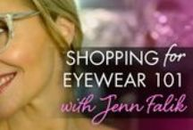 Shopping for Eyewear 101 with Jenn Falik / Craving new frames? Me too! Effectively shopping for specs and sunnies starts with identifying your unique fashion sense—plus, you want to make sure you pick a pair, or pairs (feel free to start a collection!), that fits with your lifestyle. Once you've got that piece figured out, a little pre-shopping prep will work wonders in ensuring you make the most out of every minute of your trip and end up with the most fantastic eyewear for fall. / by Eyecessorize