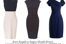 Power dressing / Sexy work dresses.