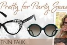 Get Pretty for Party Season with Jenn Falik / 'Tis the season to attend lots of snazzy holiday affairs! Regardless of where you're gallivanting off to, you'll need the perfect beauty looks to complement the occasion. Lucky for you, I've picked my favorite hairstyles and makeup products—inspired by some of the top fashionistas—as well as eyewear of course, that'll travel with you to any celebratory carousal. Happy partying, ladies! / by Eyecessorize
