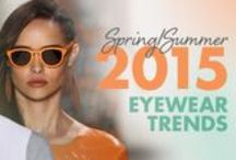 Say Hello to Spring 2015 Eyewear Trends / http://eyecessorizeblog.com/2015/02/spring-2015-eyewear-trends/ / by Eyecessorize