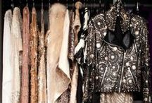 CLOSETS & DRESSING ROOMS / Ideas for my dream closet and for my styling studio / by Lauren Messiah