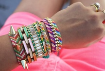 Stacked & Layered...How to Wear Bracelets/Bangles / by Jodi Been