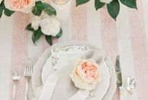 wedding tablescapes & table styling / Pretty inspiration for your wedding reception and beyond.