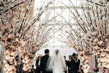 wedding aisles & alters / Spaces places and styling ideas for your wedding ceremony.