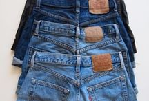 """Blue Jean Baby / """"Blue jeans are the most beautiful thing since the gondola."""" -- Diana Vreeland"""