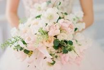 bouquets / floral inspiration for brides and bridesmaids.