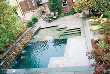 Water Features, Pools, Ponds and Fountains / Inspirational pictures of water features in the landscape