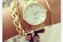 wrist adornment / watches, bracelets, bangles and arm parties!
