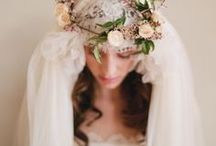 veils crowns & headpieces / Wedding inspiration for brides to be! All the loveliest veils, crowns and hair accessories.