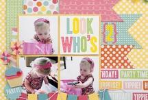 Birthday layouts / by Judy Dehoux